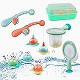 Badewannenspielzeug Set Schwimmendes Poolspielzeug Wasserspielzeug (Angeln)