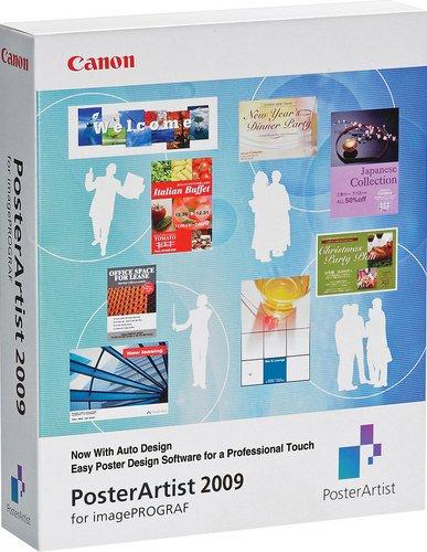 Canon PosterArtist 2009 Software nur für Canon iPF