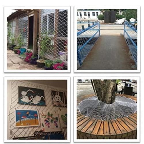 TOSSPER Inicio Balcón Barandilla Escaleras Cerca contra Caída De Seguridad para Niños Compensación Protección De Plantas del Jardín