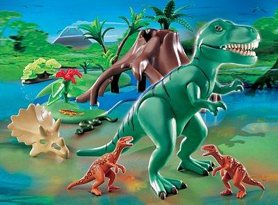 PLAYMOBIL® 4171 - T-Rex mit Velociraptoren