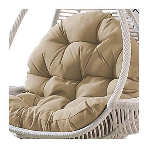 Mirui Cojín para silla colgante de 90 x 120 cm, para el hogar, sala de estar, camas colgantes, asientos de mecedora (color: D)