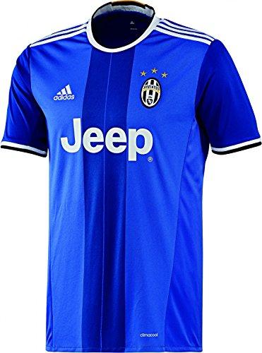 adidas Juve A JSY Camiseta 2ª Equipación Juventus FC 2015/2016, Hombre, Azul/Blanco, S