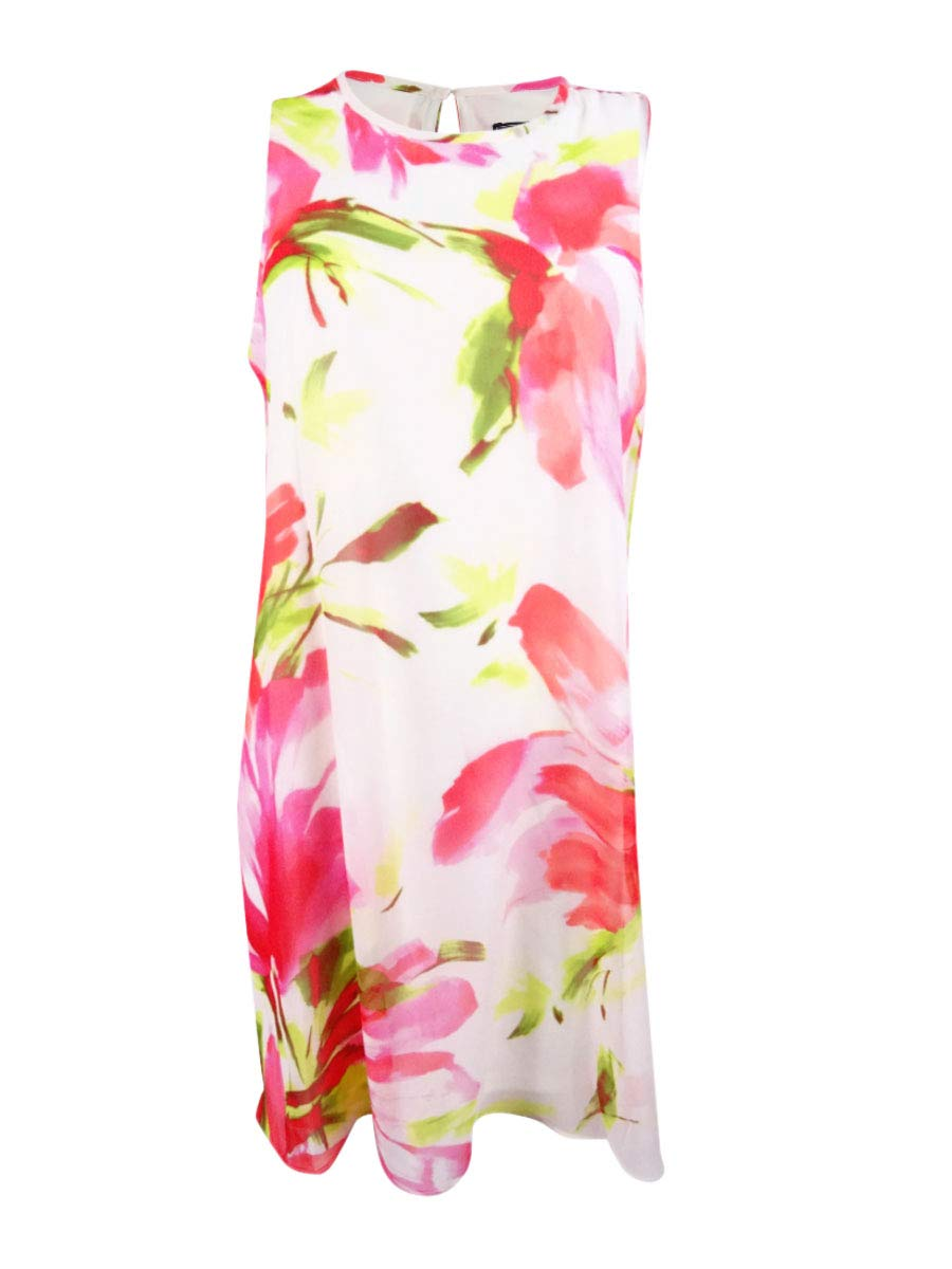 Available at Amazon: Jessica Howard Women's Petite Printed Shift Dress