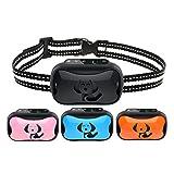AUSELECT Anti Bark Dog Collar Vibration Control Device Waterproof for Small Medium Large