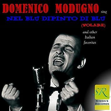 Sing Nel Blu Dipinto Di Blu (Volare) and Other Italian Favorites