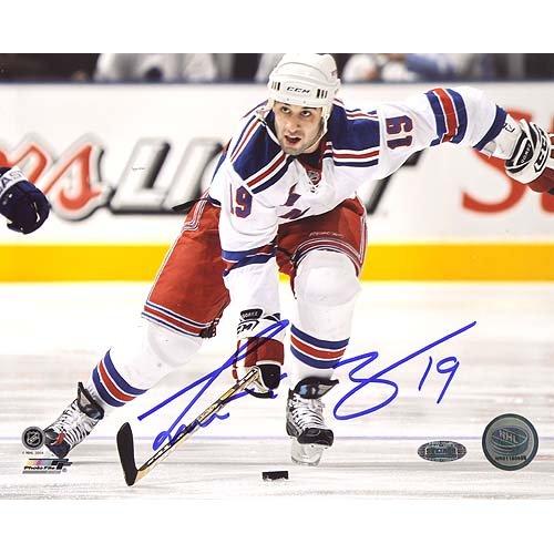 Steiner Sports NHL Scott Gomez tragen Puck bis Ice handsignierten 8-by-10-inch Foto