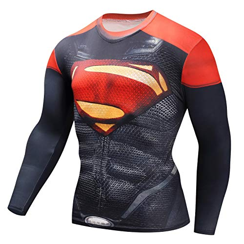 Spiderman - T-Shirt imprimé à Manches Longues pour Homme