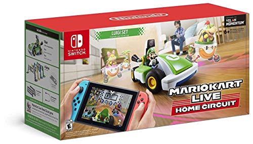 Mario Kart Live: Home Circuit - Luigi Set - Nintendo Switch