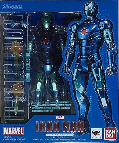 Bandai S.H.Figuarts Iron Man Mark 3 - Blau Stealth Farbe