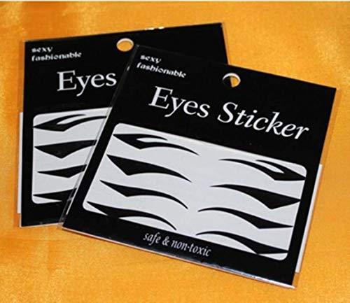 LLine 8 paar ooglidoverdracht Eyeliner Shadow Sticker Style Sexy tijdelijke oogmake-up tools