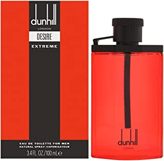 Alfred Dunhill Desire Red Extreme Eau de Toilette Spray for Men, 3.4 Ounce