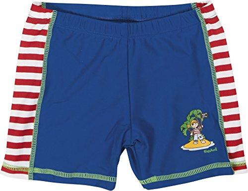 Playshoes Jungen Badeshorts Badeshorty Pirateninsel, UV-Schutz nach Standard 801 und Oeko-Tex Standard 100, Gr. 122 (Herstellergröße: 122/128), Mehrfarbig (original 900)