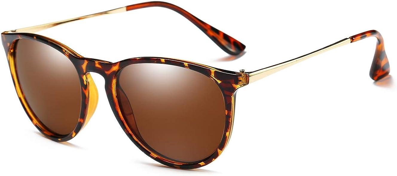 Genuine Free Max 84% OFF Shipping Round Polarized Sunglasses for Men Womens Women Retro