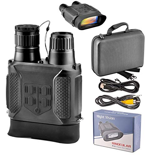 BEAUTTO 640P HD Digital Jagd Nachtsichtgerät, Infrarot Binokulare mit 2