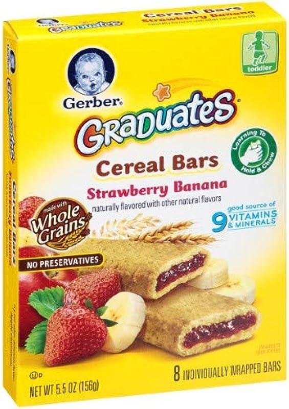 Gerber Graduates Cereal Bars Pack Of 10