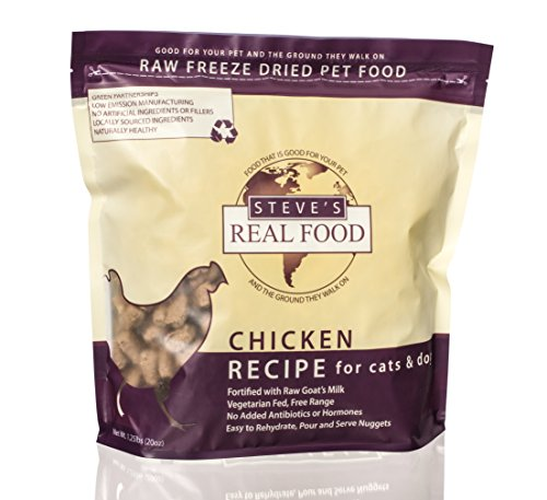 Steve's Real Food Freeze-Dried Raw Nuggets 1.25#