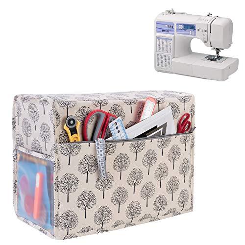 Yarwo Housse de Protection pour Machine à Coudre, Housse pour Machine à Coudre, Convient à la Plupart des Machines à Coudre Standard, Arbre