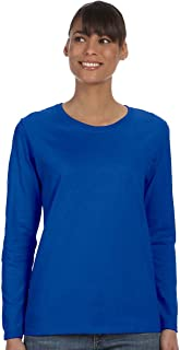G540L Ladies 5.3 oz. Heavy Cotton Missy Fit Long-Sleeve T-Shirt