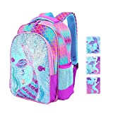 Magic Reversible Sequin School Bag, Lightweight Pre-School Backpack for for Kindergarten or Elementary…