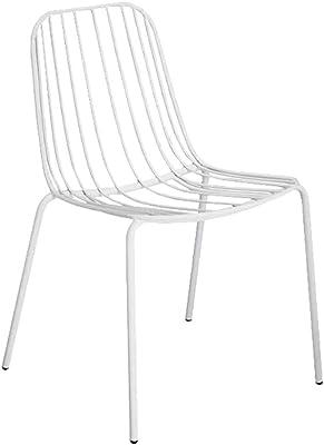 Amazon.com: TLMY Modern Minimalist Hollow Chair Stylish Restaurant ...