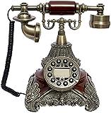 SXRDZ Teléfono Retro de Estilo Retro teléfono Retro, teléfono de Llamada, teléfono de Escritorio, decoración de Sala de Estar para el hogar decoración Adorno