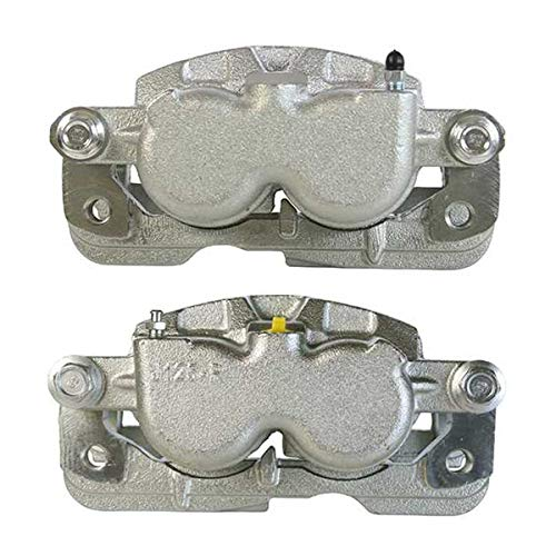 AutoShack BC2688PR Front or Rear Brake Caliper Pair 2 Pieces Fits Driver and Passenger Side