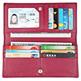 Best Ladies Wallets - Lavemi RFID Blocking Ultra Slim Real Leather Credit Review