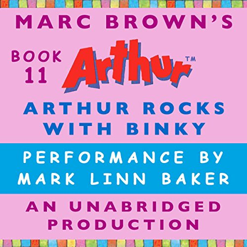 Arthur Rocks with Binky audiobook cover art