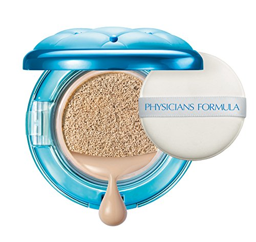 Physicians Formula – Mineral Wear All In One ABC Cushion Foundation – flüssig Foundation in Puderdose mit Mineral Wear All in 1-ABC-Soft-Kissen, SPF 50, Natural, 1er Pack, 14ml
