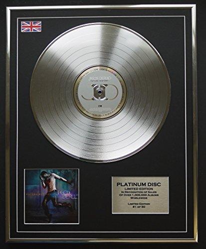 JASON DERULO/Limitierte Edition Platin Schallplatte/FUTURE HISTORY