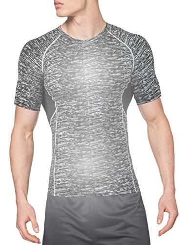 OXENSPORT Sportshirt Kurzarm reflektierend - für erhöhte Sichtbarkeit in Dunkelheit beim Laufen oder Radfahren, ohne LED - Atmungsaktiv und Anti-Schweiß