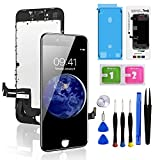 for iPhone 8 Plus Screen Replacement Black 5.5 Inch, Diykitpl 3D Touch LCD Digitizer Display for iPhone 8 Plus, with Repair Tools Kit for A1864,A1897,A1898 Glass Screen