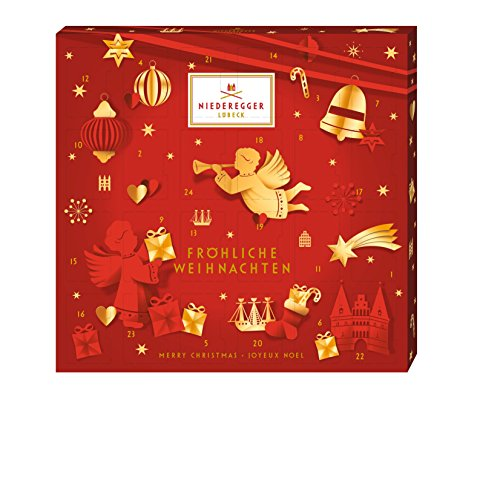 Niederegger Marzipan Mini Glamour Advent Calendar - 168g / 6 Oz