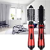 ZouYongKang Cepillo de aire caliente, secador de pelo y volumen, cepillo de secador de estilizador de cabello iónico negativo, logro de salón en casa, cepillo de aire caliente 2 en 1 con cepillo de en