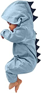KaloryWee Baby Jungen Mädchen Schlafanzug Kinder Kleinkinder Elefant Pjs Strampler Overall UK Monate