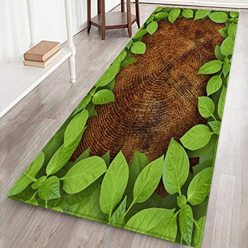 Changor Geeigneter dekorativer Teppichboden, Wasserbeständigkeit Wasser Steckdose Handgefühl Flauschiger Shaggy-Bereich aus Polyester für Wohnzimmer Schlafzimmer (grün)