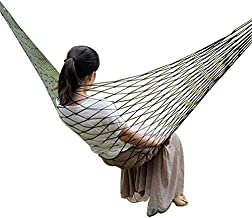 Outdoor Thicken Nylon Mesh Hammock Camping Hanging Hammock Garden Swingseat
