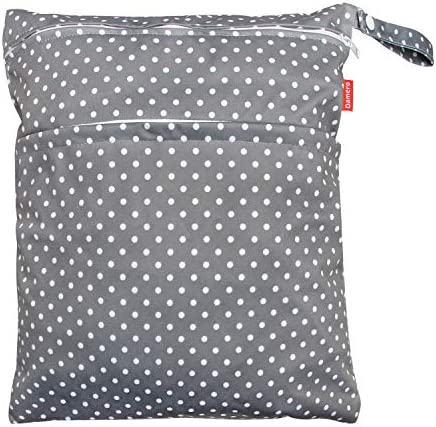 Damero Travel Wet and Dry Bag with Handle for Cloth Diaper Pumping Parts Clothes Swimsuit and product image
