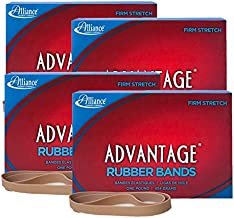 Alliance+Rubber+27075+Advantage+Rubber+Bands+Size+%23107%2c+1+lb+Box+Contains+Approx.+160+Bands+(7%22+x+5%2f8%22%2c+Natural+Crepe)