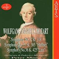 Symphonies 35 & 36 by PETER MAAG (1997-09-16)