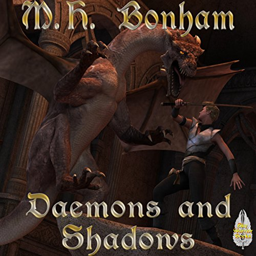 Demons and Shadows audiobook cover art