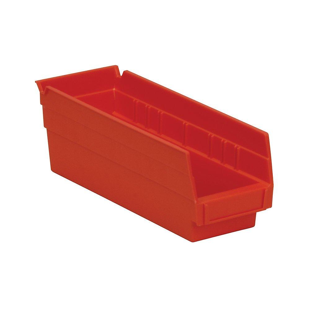 Very popular Shelf Bin OFFicial site Set of 24 Color: Red