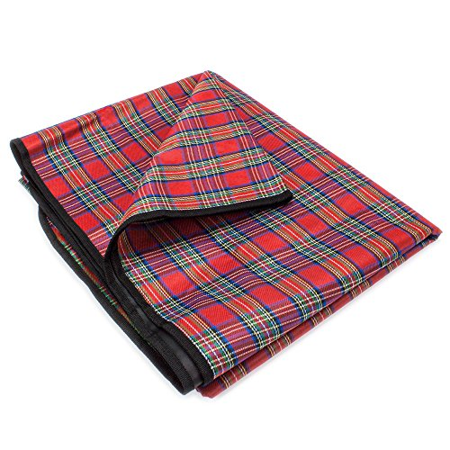 Grizzly Peak All-Purpose Lightweight Camping Blanket, Waterproof and Quick-Drying (71 Inches)