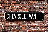 Unknow Van Chevrolet, Chevrolet Van Sign, Chevrolet Van regalo, Chevrolet Van proprietario, Chevrolet Van fan, Chevy Van fan, cartello stradale personalizzato, cartello in metallo di qualità