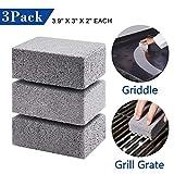 PoeHXtyy 3 STÜCKE Grill Bratpfanne Reinigung Brick Block Grill Reinigung Brick De-Scaling Reinigungsstein zum Entfernen von Flecken BBQ Reinigung