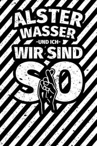 Notizbuch liniert: Alsterwasser Geschenke lustiger Spruch Bier