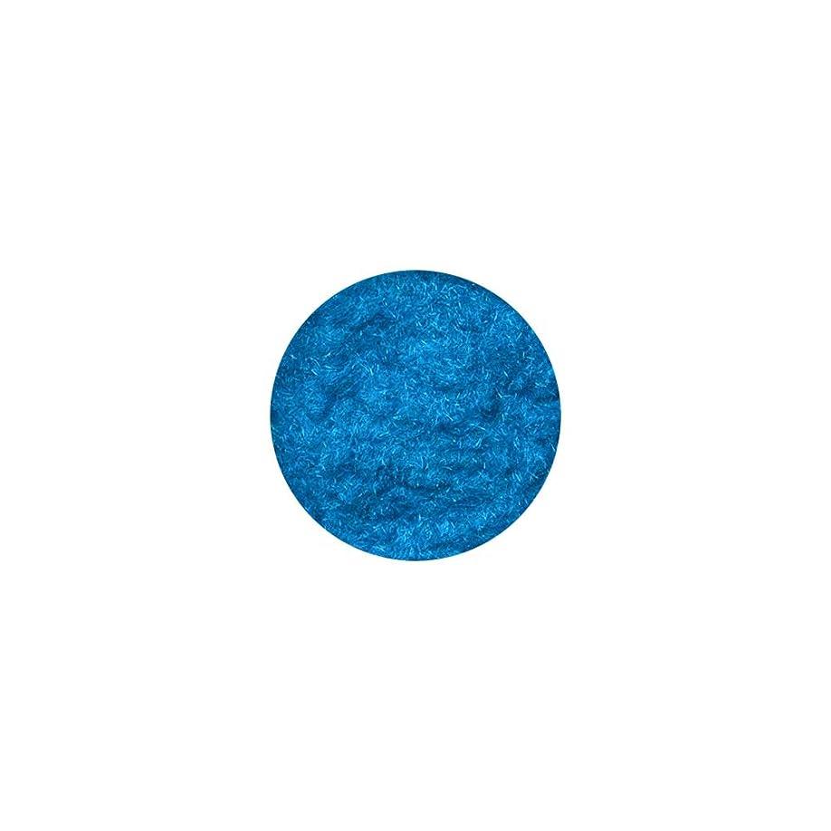 廃止する基本的なカッターベルベットパウダー[ターコイズブルー] フェルト ジェルネイル
