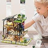 Navigatee DIY Dollhouse Mini Kits und Spielzeug, 3D Dollhouse Möbel, handgemachte Dollhouse...