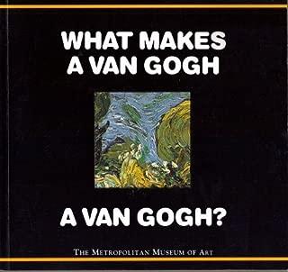 What Makes a Van Gogh a Van Gogh? by Richard Muhlberger (1993-10-01)