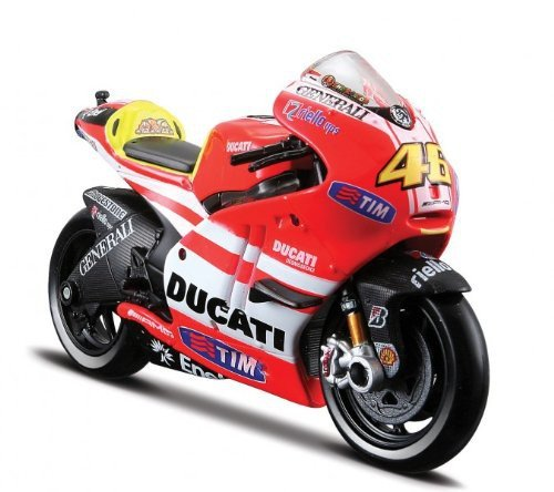 MODELLINO MotoGp Maisto-1/18 Ducati Valentino Rossi